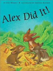 Cover of: Alex did it!