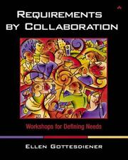 Cover of: Requirements by Collaboration