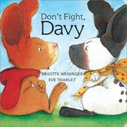 Cover of: Don't fight, Davy