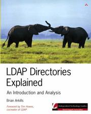 Cover of: LDAP Directories Explained