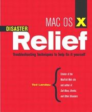 Cover of: Mac OS X disaster relief