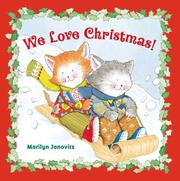 Cover of: We Love Christmas | Marilyn Janovitz