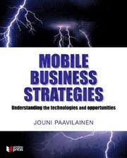 Cover of: Inside mobile business strategies | Jouni Paavilainen