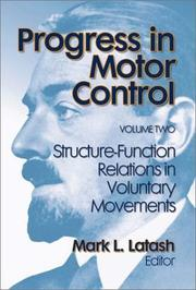 Cover of: Progress in Motor Control, Volume Two