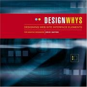 Cover of: Design Whys