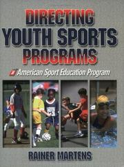 Cover of: Directing Youth Sport Programs