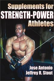 Cover of: Supplements for Strength-Power Athletes | Jose Antonio