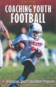 Cover of: Coaching youth football