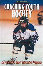 Cover of: Coaching youth hockey
