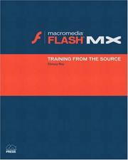 Cover of: Macromedia Flash MX | Chrissy Rey