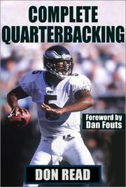 Cover of: Complete Quarterbacking