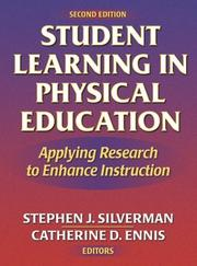 Cover of: Student learning in physical education |