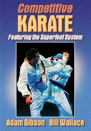 Cover of: Competitive Karate | Adam Gibson