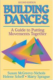 Cover of: Building dances | Susan McGreevy-Nichols