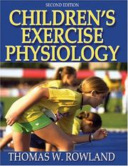 Cover of: Children's Exercise Physiology