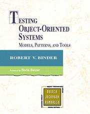 Cover of: Testing Object-Oriented Systems
