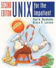 Cover of: UNIX for the impatient