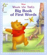 Cover of: Disney's Winnie the Pooh's big book of first words