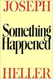 Cover of: Something Happened