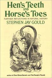 Cover of: Hen's teeth and horse's toes