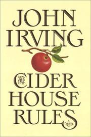 Cover of: The Cider House Rules   Part 1 Of 2