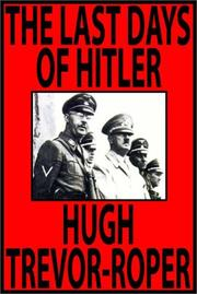 Cover of: The Last Days of Hitler