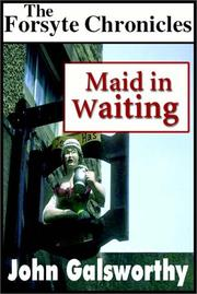 Cover of: Maid in waiting