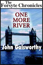 Cover of: One More River