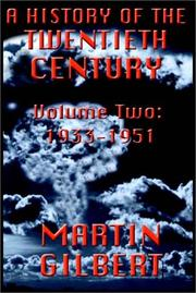 Cover of: A History Of The Twentieth Century, Vol. 2