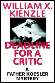 Cover of: Deadlinefor a critic
