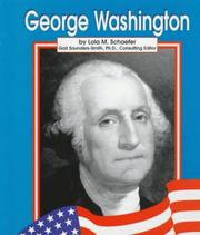 Cover of: George Washington | Lola M. Schaefer