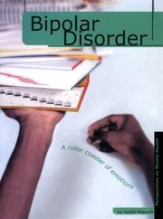 Cover of: Bipolar Disorder (Perspectives on Mental Health)