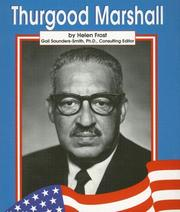 Cover of: Thurgood Marshall (Famous Americans)