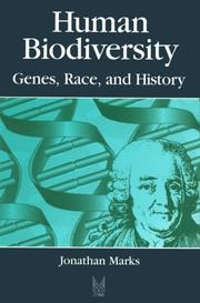 Cover of: Human biodiversity | Jonathan Marks
