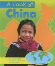 Cover of: A Look at China (Our World)