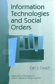 Cover of: Information technologies and social orders
