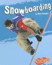 Cover of: Snowboarding (Blazers--To the Extreme) | Matt Doeden