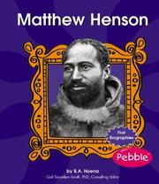 Cover of: Matthew Henson