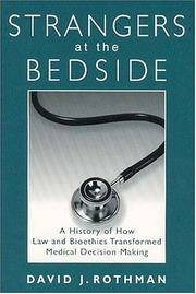 Cover of: Strangers at the Bedside (Social Institutions and Social Change)