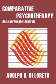 Cover of: Comparative Psychotherapy
