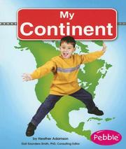 Cover of: My Continent | Heather Adamson