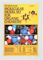 Cover of: Prentice Hall Molecular Model Set For Organic Chemistry