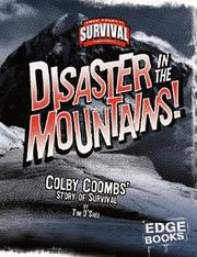 Cover of: Disaster in the Mountains!