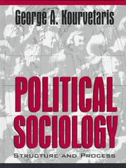 Cover of: Political Sociology