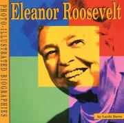 Cover of: Eleanor Roosevelt | Lucile Davis