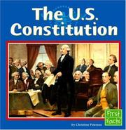 Cover of: The U.s. Constitution |
