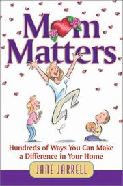 Cover of: Mom matters