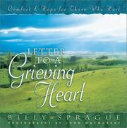 Cover of: Letter to a Grieving Heart