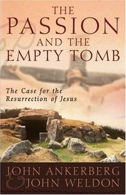 Passion and the empty tomb