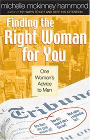 Cover of: Finding the Right Woman for You